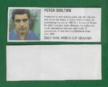 England  Peter Shilton Stoke City DM70